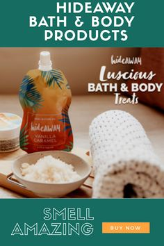 Smell amazing with HideAWAY bath and body products. HideAWAY is an Australian company who create the best smelling and feeling skin products in the world. I only promote brands that I believe in, and I love the fact that they are locally produced, ethical, and smell divine
