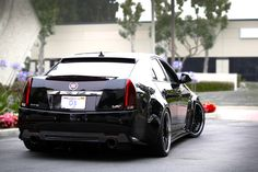 Widebody Cadillac CTS-V sedan