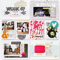 Project Life | Week 47 #projectlife #scrapbook