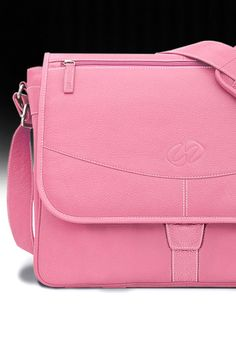 A one-of-a-kind, custom MacCase Premium Leather Messenger Bag crafted from our pink pebble grain hides with white stitching. Pretty in pink, indeed. Let us build one for you. Custom Ipad Case, Best Ipad, Macbook Pro Case, Custom Leather, Ipad Pro, Pretty In Pink, Messenger Bag, Stitching, Costura