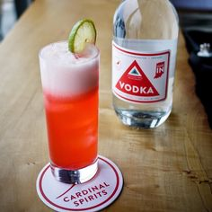 Vodka sodas are great but there's a whole world of interesting vodka cocktails out there and we want to be your tour guide. Sign up for our Vodka Cocktail Class this Wed night at the distillery. To sign up tap link in profile.