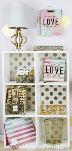 Inspiration starts with your workspace! Glam it up with pops of gold and vibrant... - #Glam #Gold #Inspiration #pops #Starts #vibrant #workspace