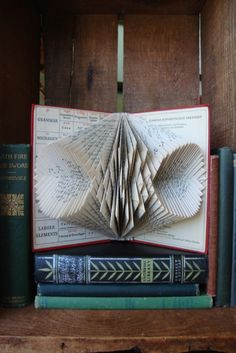 Looks like just folded pages. A fun thing to try even if mine turns out to be a variation.