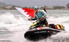 Bahrain News Agency | Spanish sailor flies Bahraini flag during solo Caribbean sea tour