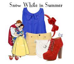Looks de verão inspirado em princesas da Disney