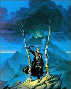 Crown of Shadows, Michael Whelan