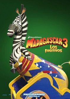 Madagascar, the zebra is so funny!