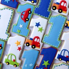 Planes, trains and automobiles! My most popular number set inspired by a party plate. Harry Birthday, Wild One Birthday Party, First Birthday Themes, Cars Birthday Parties, Baby 1st Birthday, Birthday Ideas, Auto Party, Transportation Birthday, Birthday Pictures