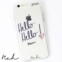 Capinha para celular Hello Hello by Nah Cardoso