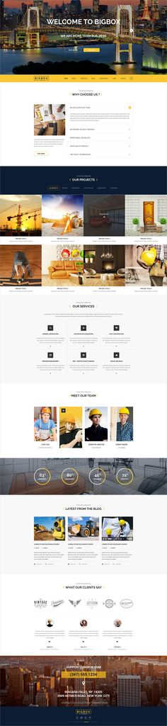 Bigbox is a wonderful #PSD template for stunning #architect #business websites with 13 multipurpose homepage layouts and 120 organized PSD pages download now➩ https://themeforest.net/item/bigbox-multipurpose-psd-template/19294025?ref=Datasata