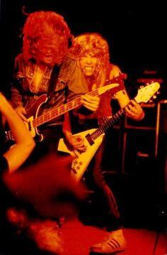 Cliff Burton & James Hetfield Kill Em All Era1983