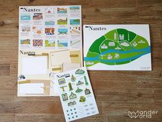 LOVE Nantes by WanderWorld. Come and see our products! #wanderworld #love #nantes #lovenantes #france #travel #tourism #souvenir #discover #family #kids #illustration #diy #stickers #onlineshopping #cute