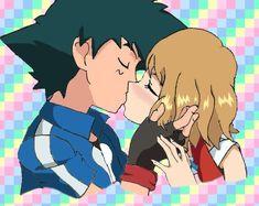 Ash and Serena Amourshipping Pokemon XY by Viper3n3n3.deviantart.com on @DeviantArt