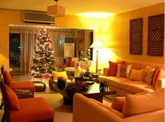 Modern Home Christmas Decorating Ideas 2009 - http://www.decoratingo.com/modern-home-christmas-decorating-ideas-2009/ #HomeDesigning