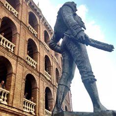 Plaza de toros de Valencia... #valenciaenfallas
