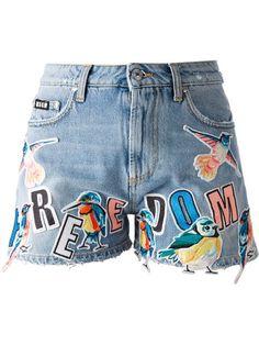 Msgm Short Jeans - Luisa World - Farfetch.com