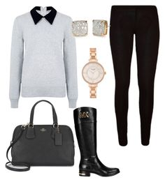 """Untitled #5"" by kreinstein on Polyvore featuring Edit, Coach, Michael Kors and Kate Spade"
