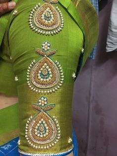 Shirt designs gutta pusalu work Article Physique: Each lady is aware of the issue concerned find the Cutwork Blouse Designs, Simple Blouse Designs, Stylish Blouse Design, Blouse Neck Designs, Blouse Designs Wedding, Pattu Saree Blouse Designs, Häkelanleitung Baby, Hand Work Blouse Design, Sleeves Designs For Dresses