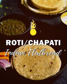How To Make Soft Roti / Chapati? (Whole Wheat Indian Flatbread Roti, also known as Chapati or Phulka, is a whole wheat Indian flatbread enjoyed as a side with curries or lentils. Let's learn how to make soft roti's every time! Low Carb Desserts, Dessert Recipes, Chapati Recipes, Flatbread Recipes, India Food, Indian Dishes, Curry Recipes, Indian Food Recipes, Healthy Indian Food