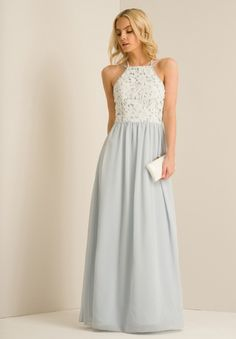 4b7d7200f32 Chi Chi Petite Kiri Dress Blue Size UK 14 rrp 74.99 DH084 HH 02  fashion