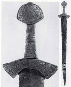 Early Migration Era Sword. (Found in a woman's grave in modern day Finland)