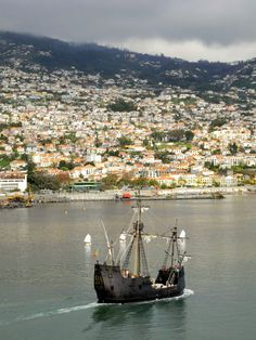 """visitheworld: """" Funchal, Madeira Islands / Portugal (by UltraPanavision). """" Arrived too late for the New World Sweepstakes"""
