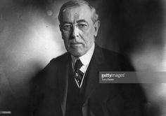 The 28th President of the United States Woodrow Wilson (1856 - 1924).  (Photo by Tony Essex/Hulton Archive/Getty Images)