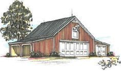 Walnut Woods Pole Barn Plans