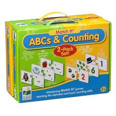 Jaxon - Learnring Journey ABC's and Counting twin pack Teaching The Alphabet, Early Education, Learning Resources, Counting, Gifts For Kids, Lunch Box, Packing, How To Plan, Twin