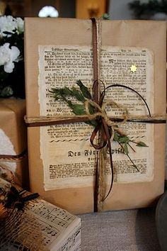 Inspired gift wrap