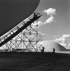 Brasília em construção, por Marcel Gautherot
