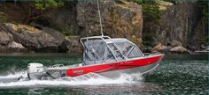 New 2012 Hewescraft 200 Sea Runner Multi-Species Fishing Boat with Tower.