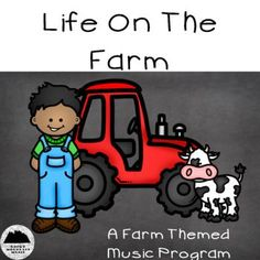 Life on the Farm is the perfect farm themed music program for the music teacher on the go! With everything you need to put on the concert of the year, this program is ideal for schools on limited budgets. Save time and stress by purchasing this set for Music Sub Plans, Music Lesson Plans, Music Lessons, Music Activities, Classroom Activities, Elementary Music, Upper Elementary, Music Education Quotes, Music Classroom