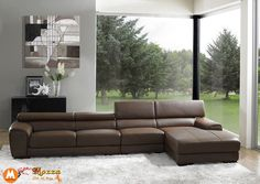 Sofa da đẹp Hà Nội SFD-016