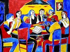Nancy Rourke Paintings — Understanding Deaf Culture