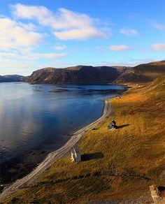 Arctic landscape in Gullgammen, Finnmark, Norway (by Jan Georg Svane).