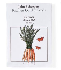 Every seed sold by John Scheepers is free of genetic modifications.
