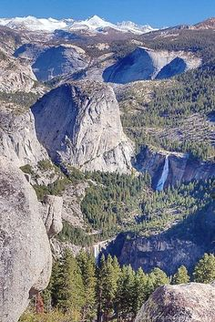 Yosemite National Park, CA. Photo: Ken Hornbrook, From Glacier Point, California Us National Parks, Yosemite National Park, Places To Travel, Places To See, Wonderful Places, Beautiful Places, Belle Photo, Vacation Spots, Beautiful Landscapes