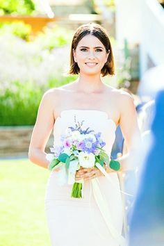 shelley hennig at a friend's wedding