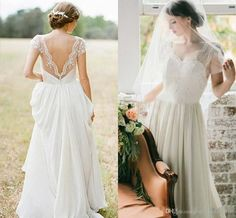 Simple Elegant Wedding Dresses for the Beach - Best Wedding Dress for Pear Shaped Check more at http://svesty.com/simple-elegant-wedding-dresses-for-the-beach/