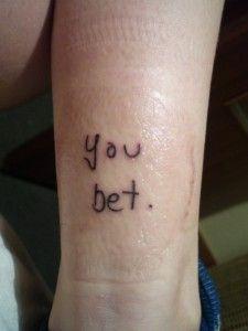 Brokeback Mountain Tattoo!