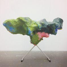FRANZ WEST http://www.widewalls.ch/artist/franz-west/ #FranzWest #contemporary #art #sculpture #installation