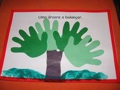faça um livro sobre a primavera com seus alunos, são 6 atividades com pinturas ou recorte, depois as reúnas e faça uma capa.     UMA ÁRVORE...