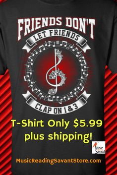3f5664ee7de1 A funny music t-shirt that makes a unique music gift for guys
