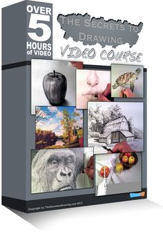 The Secrets To Drawing Video Course - drawingideas_pintous Psychological Effects Of Color, Three Point Perspective, Drawing Course, Landscape Drawings, Learning Styles, Elements Of Art, Arts And Entertainment, Figure Drawing, Drawing Drawing