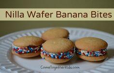 Come Together Kids: Vanilla Wafer Banana Bites