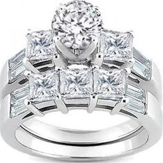 wedding ring sets - Google Search