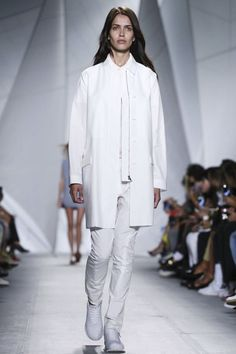 Lacoste Ready To Wear Spring Summer 2015 New York Spring Summer 2015, Lacoste, Ready To Wear, Runway, Normcore, New York, Coat, Jackets, How To Wear