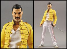 Who would you pose your Freddie Mercury action figure with?