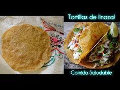Tortillas de Linaza! Receta Saludable - YouTube Low Card Meals, Keto Recipes, Healthy Recipes, Paleo Bread, Sin Gluten, Gluten Free, Healthy Baking, Eat, Ethnic Recipes
